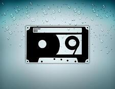 Sticker aufkleber auto motorrad helm tuning autoaufkleber audio tape vintage r2
