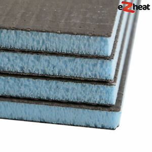 Tile Backer Board 20mm Insulation Panel 600 x 400mm Underfloor Heating Bathroom