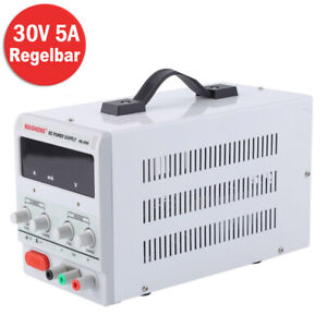 Labor Netzgerät Labornetzteil DC Netzteil Trafo Regelbar 30V 0-5A Schaltnetzteil