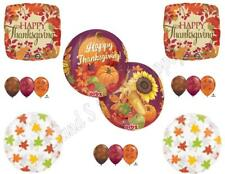 THANKSGIVING ORBZ Harvest DINNER BANQUET Balloons Decoration Supplies Pumpkin