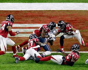 James White - New England Patriots, Winning TD 2017 Super Bowl, 8x10 Colo Photo