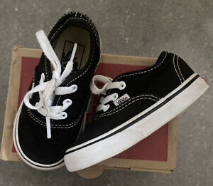 Kids Vans Size 5 Infant