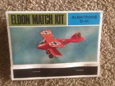 Rare Vintage 1968 Eldon Match Model Kit Albatross