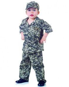 Army Camouflage Uniform Usa Toddler Halloween Costume