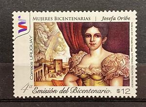 URUGUAY - JOSEFA ORIBE - MNH STAMP