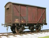Slaters 7063 O Gauge BR 12 Ton Standard Van Kit