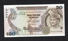Malaysia 5th RM 20 Ringgit Aziz Taha Sign Blind Man - UNC