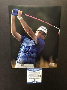 Bubba Watson autographed signed 8x10 photo Beckett BAS COA Golf PGA Masters Rare