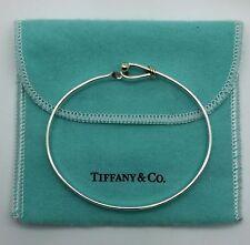 Tiffany & Co 18kt .750 & 925 Sterling Silver Love Knot Bracelet