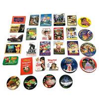 Vintage Disney Movie Promotional Advertising Pin Lot Of 29