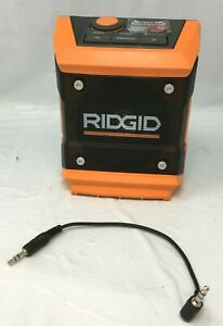 RIDGID R84086 18V Cordless Mini Bluetooth Radio Speaker N