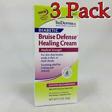 TriDerma Diabetic Bruise Healing Cream, 2.2oz, 3 Pack 182228000908T1014