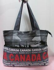 "Robin Ruth Large Denim ""Canada"" Tote Bag"