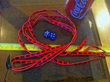 Black Red Skull & Crossbones Pirate Shoelaces Lases Laces Flirt New Shoe