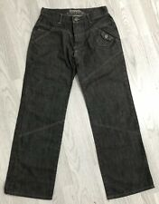 Mens Jeans By Bench  / Dark Grey / 32 Waist / 32 Leg / Top Quality / VGC