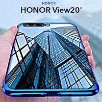 COVER per Huawei Honor View 20 CUSTODIA Tpu ORIGINALE ELECTROPLATING SLIM Case