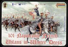 Strelets 1/72 Napoleonic French Uhlans Winter Dress # 101