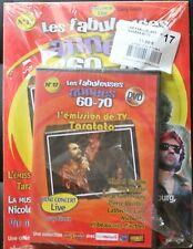 LES FABULEUSES ANNÉES 60-70 N°17   DVD + magazine