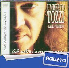 """UMBERTO TOZZI""""GLI ALTRI SIAMO NOI""""CD's SIGILLATO 1991 5 INCH - MAXI SINGLE  RARO"""