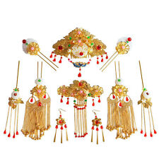 Bride Hair Accessories Chinese Ancient Costume Hairwear Hairpin Headdress Suit