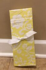 NEW Pottery Barn Kids Baby Georgia Floral Crib Fitted Sheets YELLOW