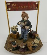 "Yesterdays Child 3518 Dollstone Coll 1997 ""The Amazing Bailey.Magic Show at 4�"