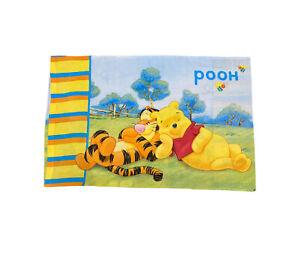 Disney Winnie The Pooh Tigger Multicoloured Single Pillow Case standard