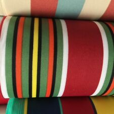 Deck Chair Out Door Fabric Canvas Material 100% Poly PU Coated 2 Widths u choose