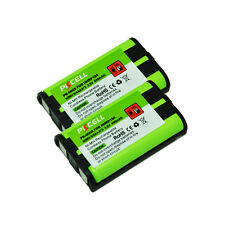 2Pcs Cordless Phone Battery for Panasonic HHR P104 KX-TG2368CN TG2378CN TG2369CN