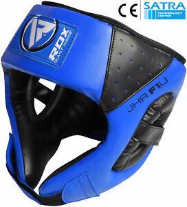 RDX Junior Headgear Kids Head Guard Boxing Children Protector Helmet OS
