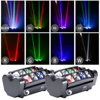LED Moving Head Stage Light Pattern Gobos Spider Beam Laser Light DMX Controller