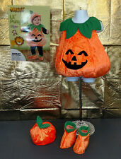 Lil' Pumpkin Halloween Costume Jack-o-Lantern 4PC Infant Size 18-24 Months NWT