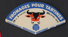 Ancienne   étiquette Fromage France  BN11722 Annecy Fromages pour tartine