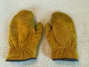 Men's Leather Mittens