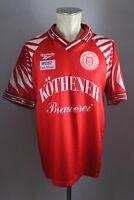 Hallescher FC Trikot 90er Gr. L #15 Köthener Brauerei Reebok Halle Shirt 90s HFC