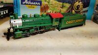 Bachmann HO Train Casey Jones 0-6-0 Steam Locomotive & Tender