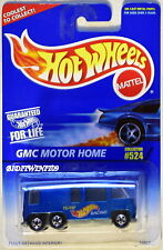 Hot Wheels 1996 GMC Motore Casa Blu #524 MIB