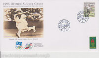 1996 Olympics SLOVAKIA OFFICIAL INTERNATIONAL OLYMPIC COMMITTEE FIRST DAY COVER