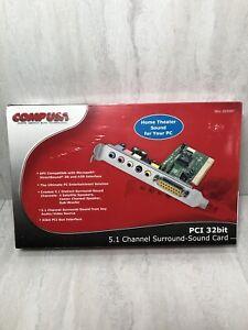 COMP USA 5.1 Channel Surround PCI 32 bit 3D Sound Card