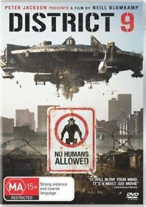 District 9 Nine DVD Alien Invasion Action Sci-Fi Movie - Peter Jackson film