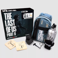 The Last of Us Part 2 Culture Fly Collector's Box w/ Backpack - Ships Same Day -