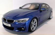 Modellini statici di auto, furgoni e camion blu in resina per BMW