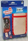 NEW PS VITA Little Big Planet Game Case Strap Ear Buds Sackboy Bobblehead sony