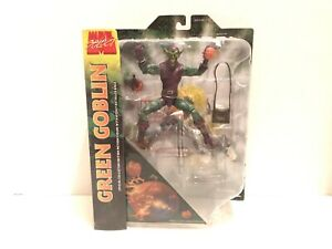"Marvel Select Green Goblin 8"" Action Figure - 2015 Diamond Select Toys NEW"