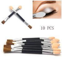 10PCS Women Disposable Double Ended Sponge Brush Eye Shadow Applicator Tools DIY