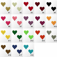 #900R Small Heart Love Embroidered Sew Iron On Motif Patch Badge Applique 0.75""