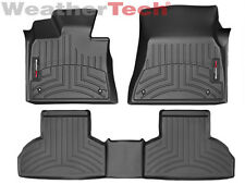 WeatherTech Custom Car Floor Mat FloorLiner for BMW X5/X6 - 1st/2nd Row - Black