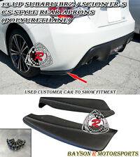 CS-Style Rear Lip Aprons (Urethane) Fits 12-18 Subaru BRZ