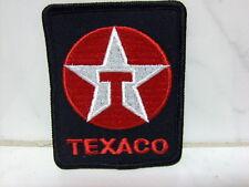 Ricamate aufbügler Patch Texaco TESSUTO RICAMATE 8 x 6 cm