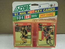 OLDER HOCKEY CARDS SCORE 1991- CANADIAN ENGLISH SERIES 1 GARRY GALLEY- NEW- L136